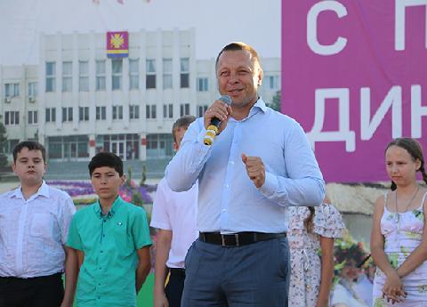 Динчане отметили День России